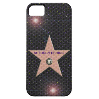 iPhone 5 case Template Hollywood Star change text