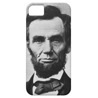iPhone 5 case with Abraham Lincoln on it