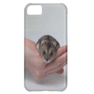 iPhone 5 case with adorable hamster