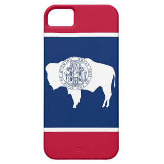 IPhone 5 Case with Flag of  Wyoming