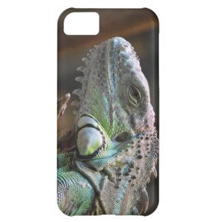 IPhone 5 Case with head of Iguana lizard