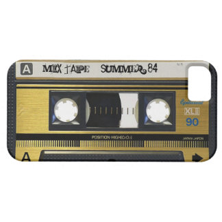 iPhone 5 Cassette Tape Retro Mix Tape Cover 1984