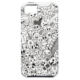 iPhone 5 Cute Doodle Case