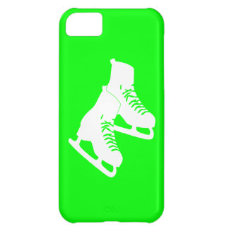 iPhone 5 Ice Skates Green iPhone 5C Cover