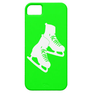 iPhone 5 Ice Skates Green iPhone 5 Cover