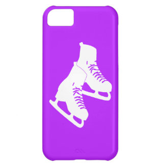 iPhone 5 Ice Skates Purple Cover For iPhone 5C