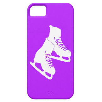 iPhone 5 Ice Skates Purple iPhone 5 Covers