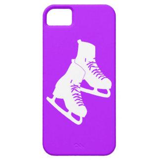 iPhone 5 Ice Skates Purple iPhone 5 Cases