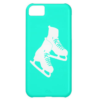 iPhone 5 Ice Skates Turquoise iPhone 5C Cover
