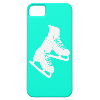iPhone 5 Ice Skates Turquoise iPhone 5 Cover