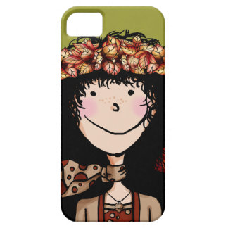 iPhone 5 ID Case, Autumn Girl iPhone 5 Covers