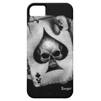 Iphone 5 ID - Skull of Spades iPhone 5 Cases