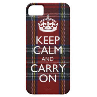 iPhone 5 Keep Calm And Carry On Cover
