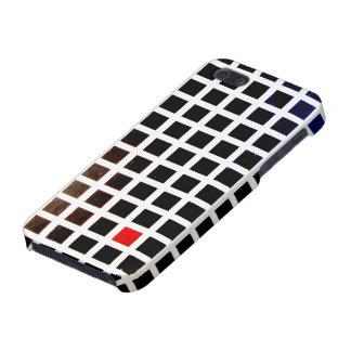 iPhone 5 matt finish covering of squares arnodie iPhone 5 Case