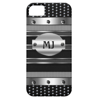 iPhone 5 Metal Studs look Chrome Mens iPhone 5 Cover