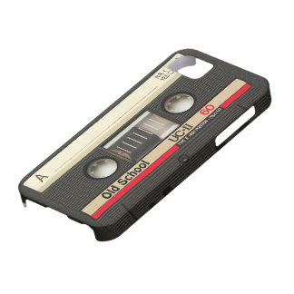 iPhone 5 Old School Cassette Tape Cover Retro