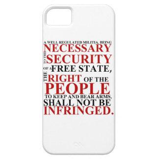 iPhone 5 Second Amendment Case