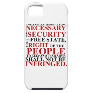 iPhone 5 Second Amendment Phone Case iPhone 5 Cases