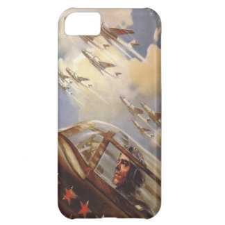 iPhone 5 Skin with Old USSR Air Force Propaganda iPhone 5C Case