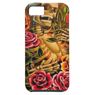 Iphone 5 tough - Mardi Gras Skeleton with Roses Case For The iPhone 5