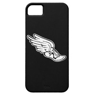iPhone 5 Track Logo White on Black iPhone 5 Cover
