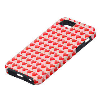 Iphone 5 with hearts iPhone 5 cover