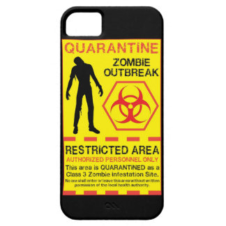 iPhone 5 Zombie Outbreak Case Walking Monster
