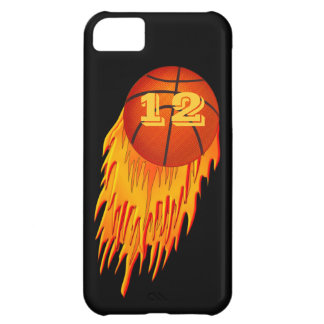iPhone 5C Basketball Cases with YOUR Jersey Number