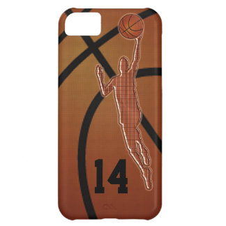 iPhone 5C Basketball Cases with YOUR NUMBER