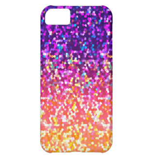 iPhone 5C Case Glitter Graphic Background