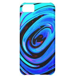 "iPhone 5C Case Matte Finish ""Feeling Blue"""