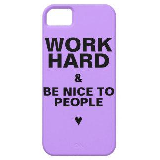 iPhone 5s Case Motivational: Purple