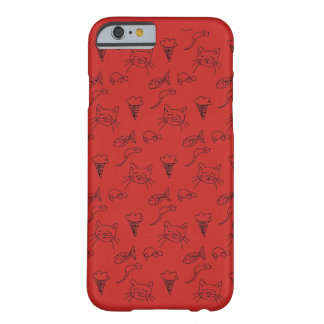 iphone 5s case with Cat Sketch .