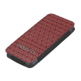 Iphone 5s Manly maroon iPhone 5 Pouch
