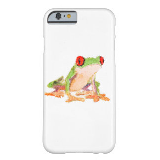 iPhone 6/6s, Barely Red-eyed tree frog Barely There iPhone 6 Case