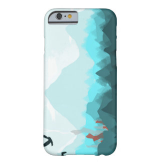 iPhone 6/6s, Barely There case Blue Mountain Range