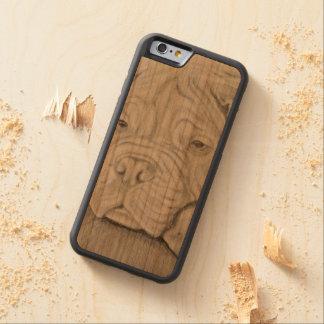 iPhone 6/6s Bumper Cherry Wood Case Pug