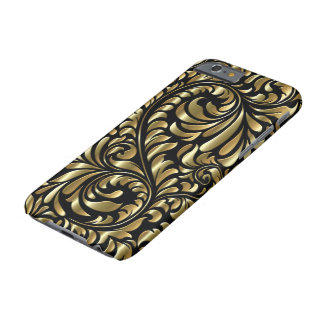 iPhone 6/6S Case - Drama in Black and Gold