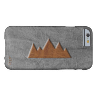"iPhone 6/6S Case ""Leather Mountain"" Heevs™"