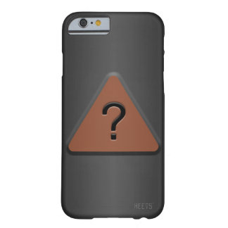"""iPhone 6/6S Case """"What Sign"""" Heevs™"""
