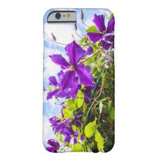 iPhone 6/6s case with beautiful violet clematis