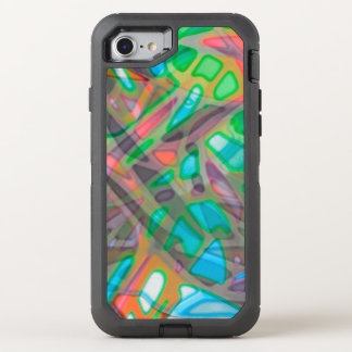 iPhone 6/6s Colorful Stained Glass OtterBox Defender iPhone 7 Case