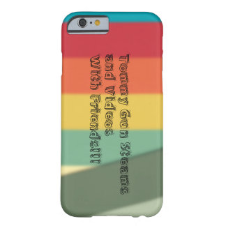 IPhone 6/6s custom channel art phone case Barely There iPhone 6 Case