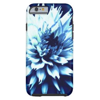 iPhone 6/6s gorgeous blue dahlia tough case