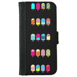 iPhone 6/6s icecream Wallet Case