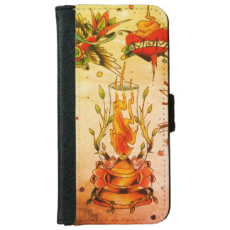 iPhone 6/6s NEO Flasboard design Wallet Case