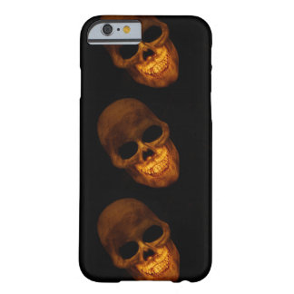 iPhone 6/6s Phone Case with Gold Skull design