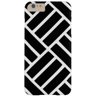 iPhone 6/6s Plus black and white pattern phonecase Barely There iPhone 6 Plus Case