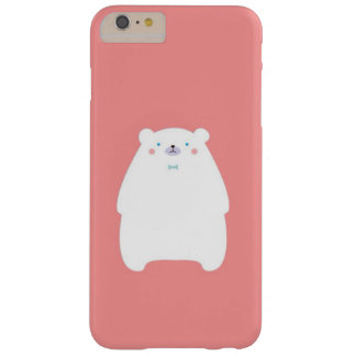 iPhone 6/6s Plus, pink bear Barely There iPhone 6 Plus Case