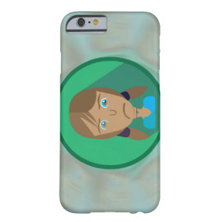 iPhone 6/6s Plus SAD GIRL CARTOON Barely There iPhone 6 Case